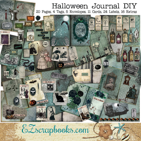 Halloween Journal Kit - 7109