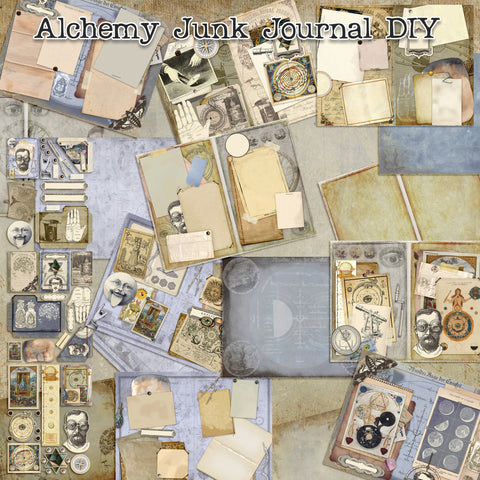 Alchemy Journal Pack - 7266 - EZscrapbooks Scrapbook Layouts Journals