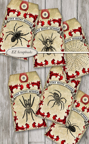 Spider Tags - 3032