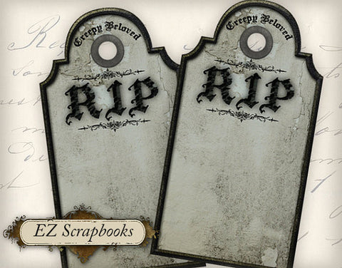 Tombstone Tags - 3035