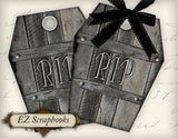Coffin Tags - 9011