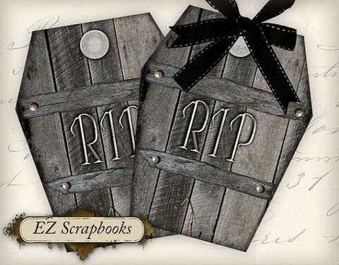 Coffin Tags - 3011