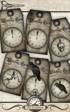 The Witching Hour Tags - 3034