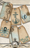 Nautical Tags - 3040