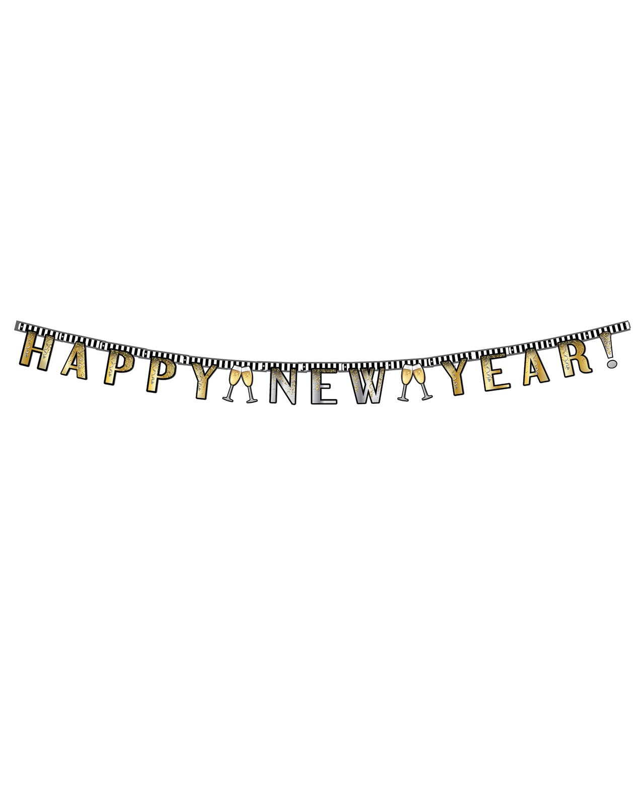 Happy New Year Jointed Banner