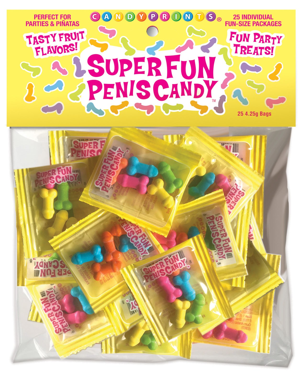 Super Fun Penis Candy - Bag of 25