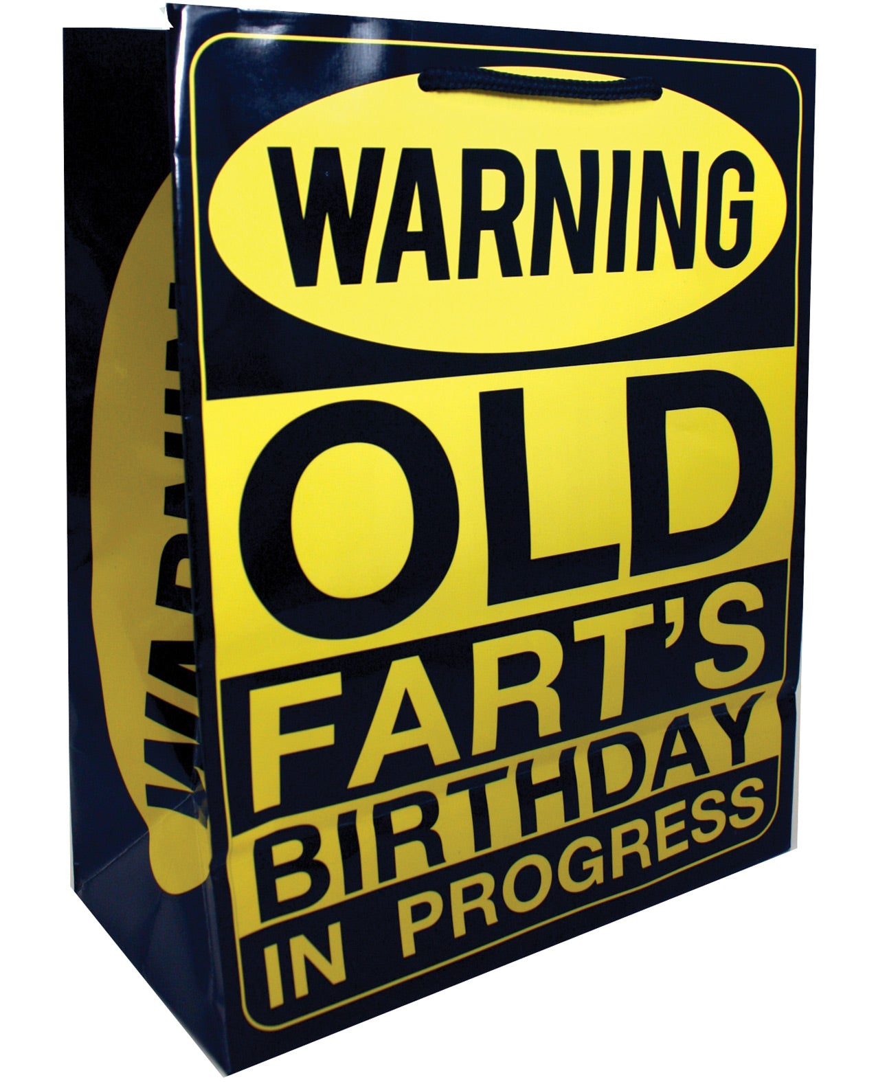 Warning Old Fart's Birthday in Progress Gift Bag