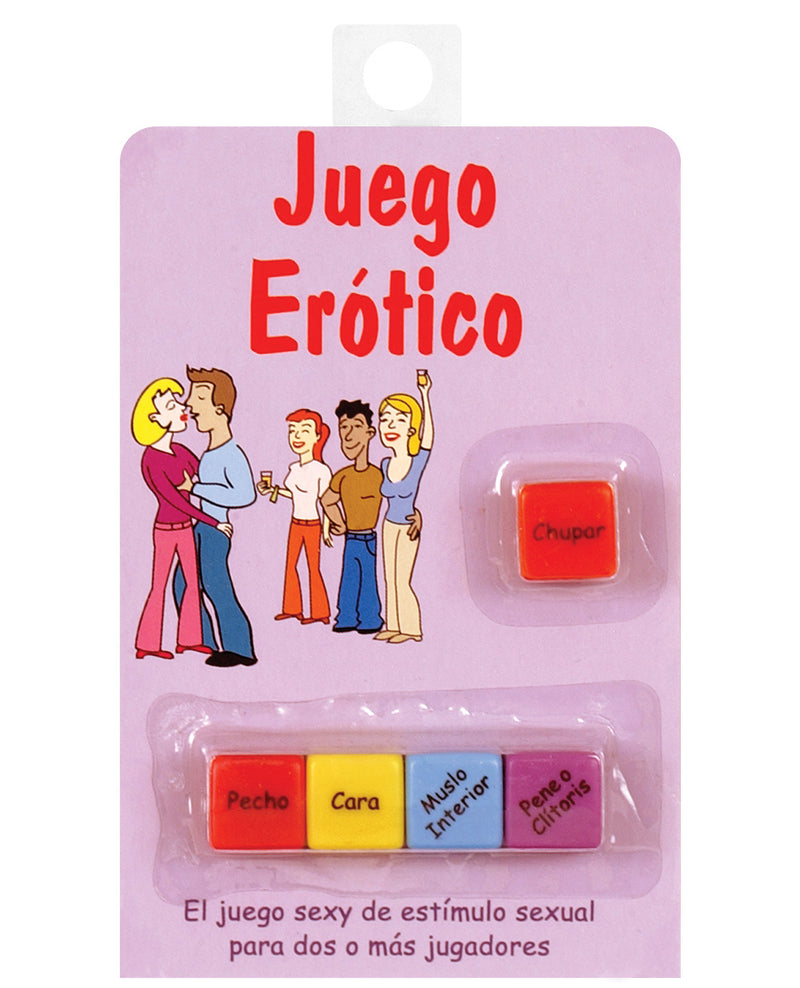 Juego Erotico - Dice Game in Spanish