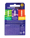 Trojan Pleasure Pack Condoms - Box of 3
