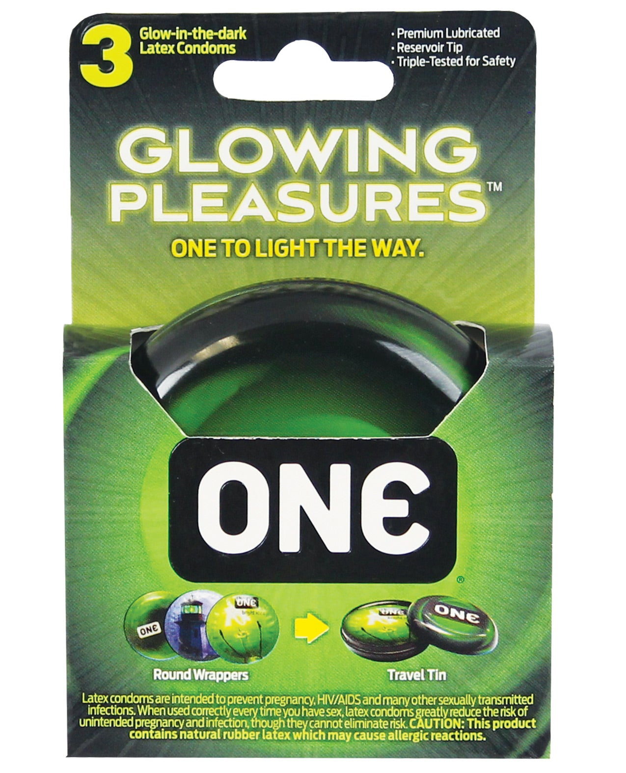 Glowing Condoms