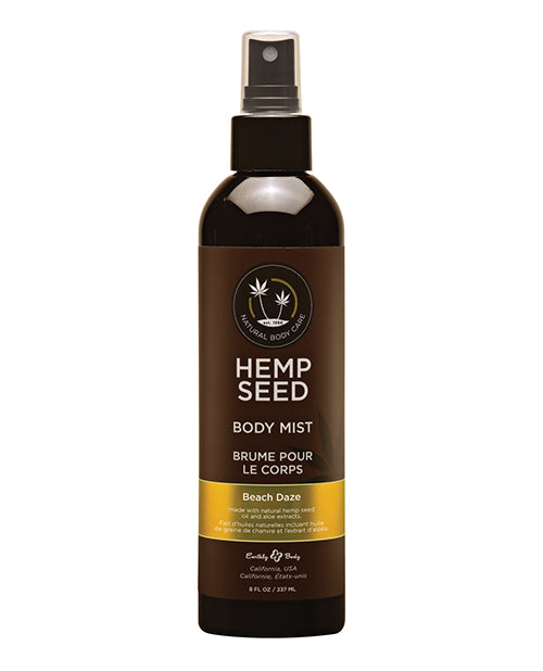 Earthly Body Hemp Seed Moisturizing Body Mist - 8 oz Beach Daze