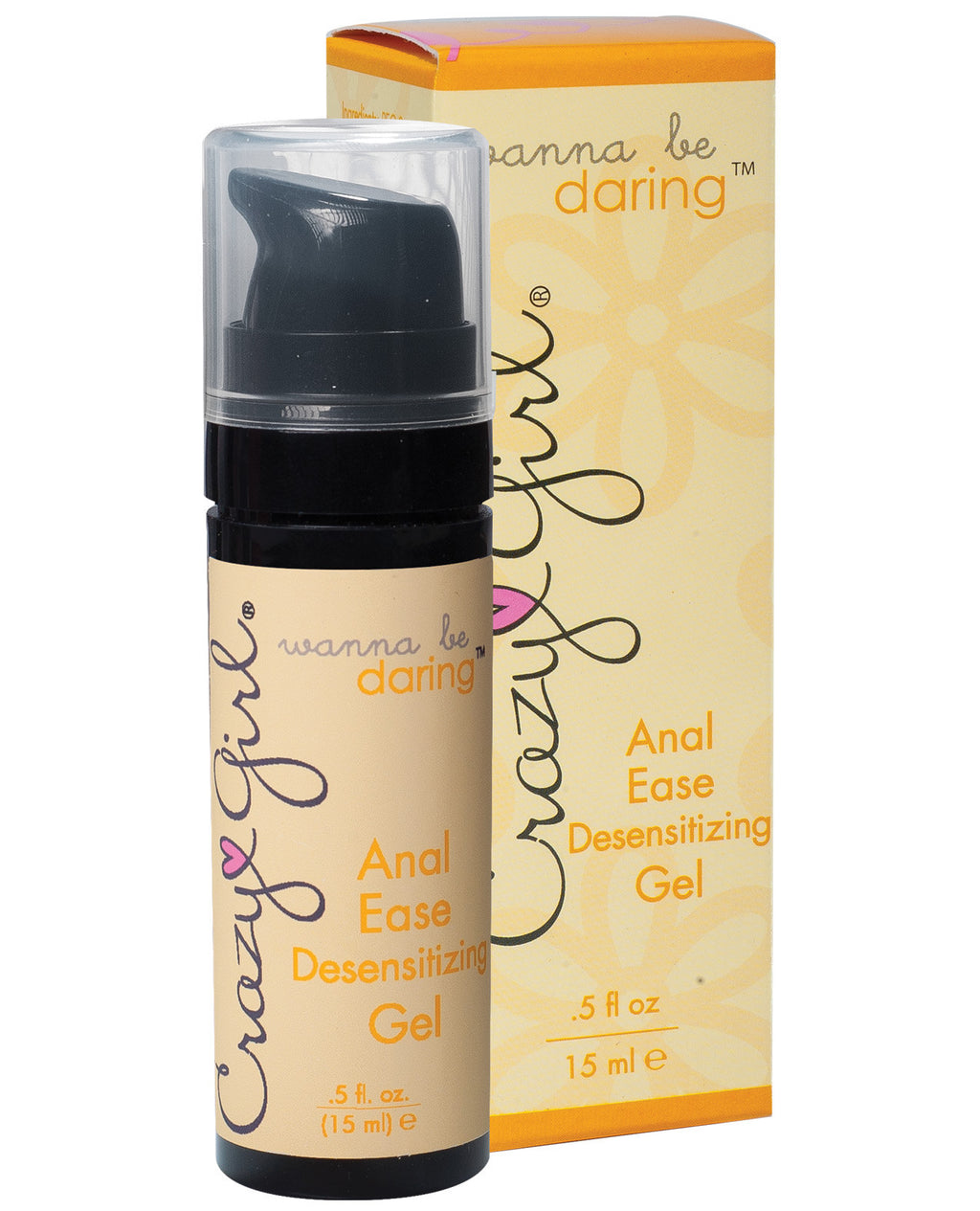 Crazy Girl Wanna Be Daring Desensitizing Anal Ease Gel - .5 oz, Anal Products - The Fallen Angel