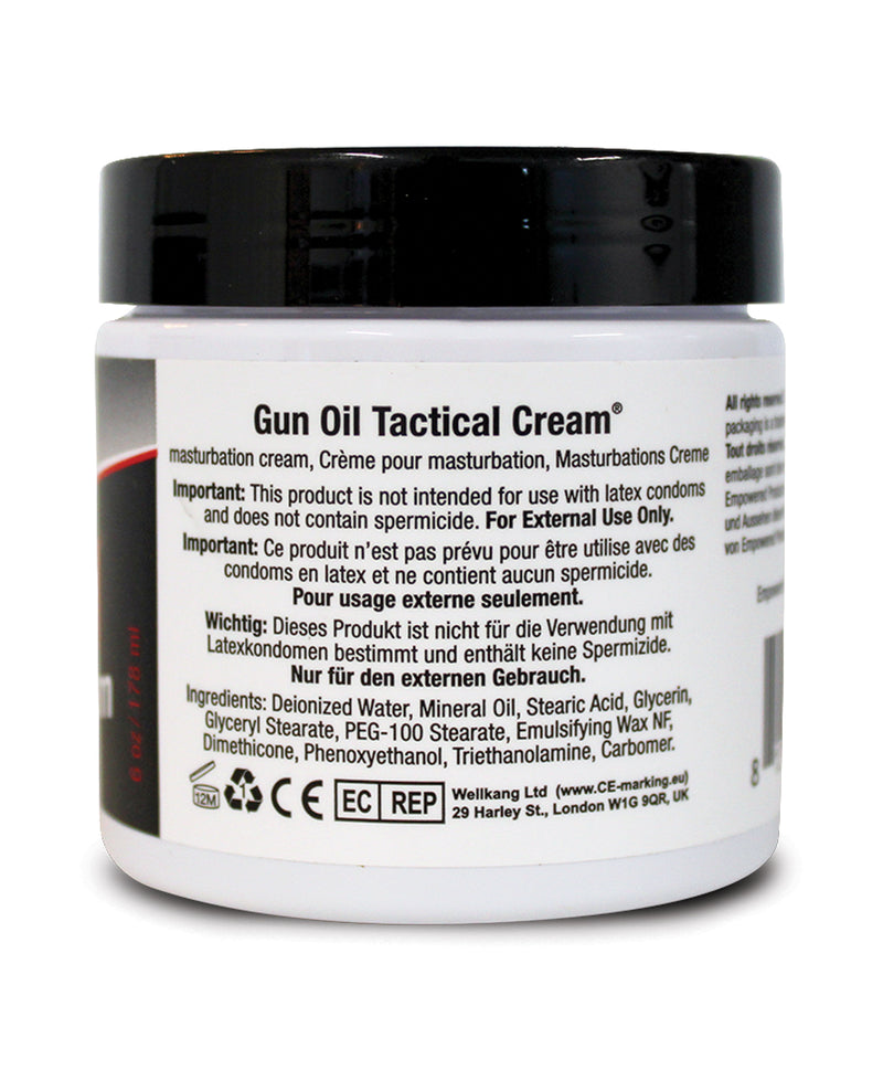 Tactical Cream - 6 oz Jar