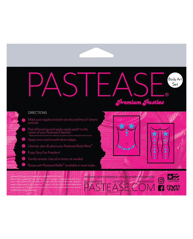 Pastease Body Set Disco Leaf - Green O/S