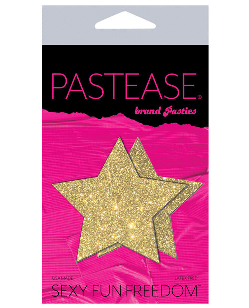 Pastease Glitter Star - Gold O/S