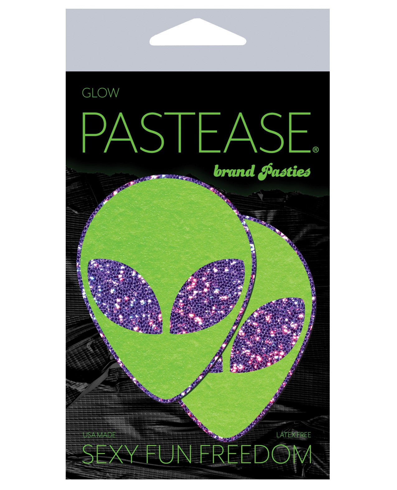 Pastease Glitter Alien - Purple/Green O/S