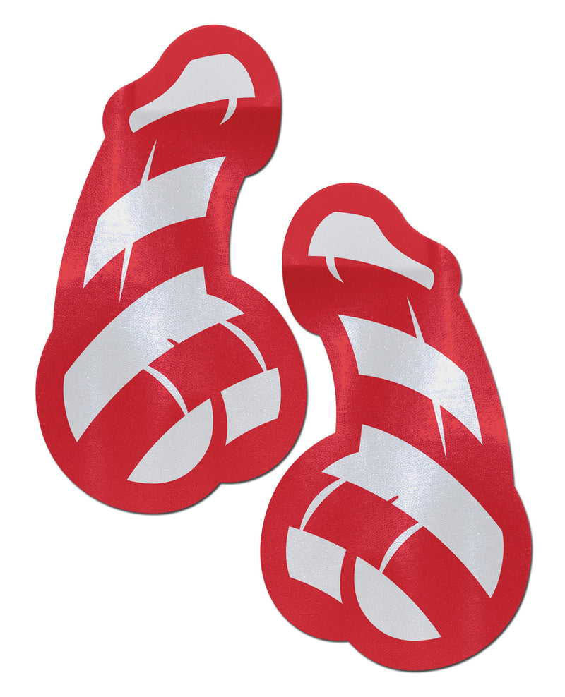 Candy Cane Dicks - Red & White O/S
