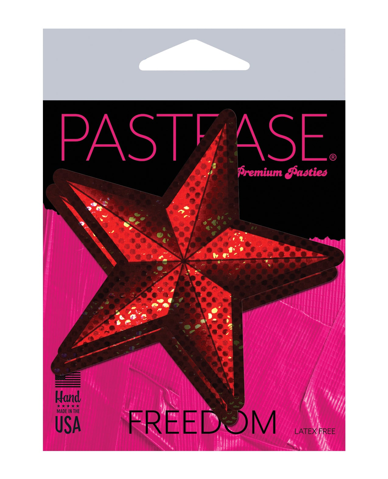 Pastease Diamond Thom Disco Nautical Star - Red O/S