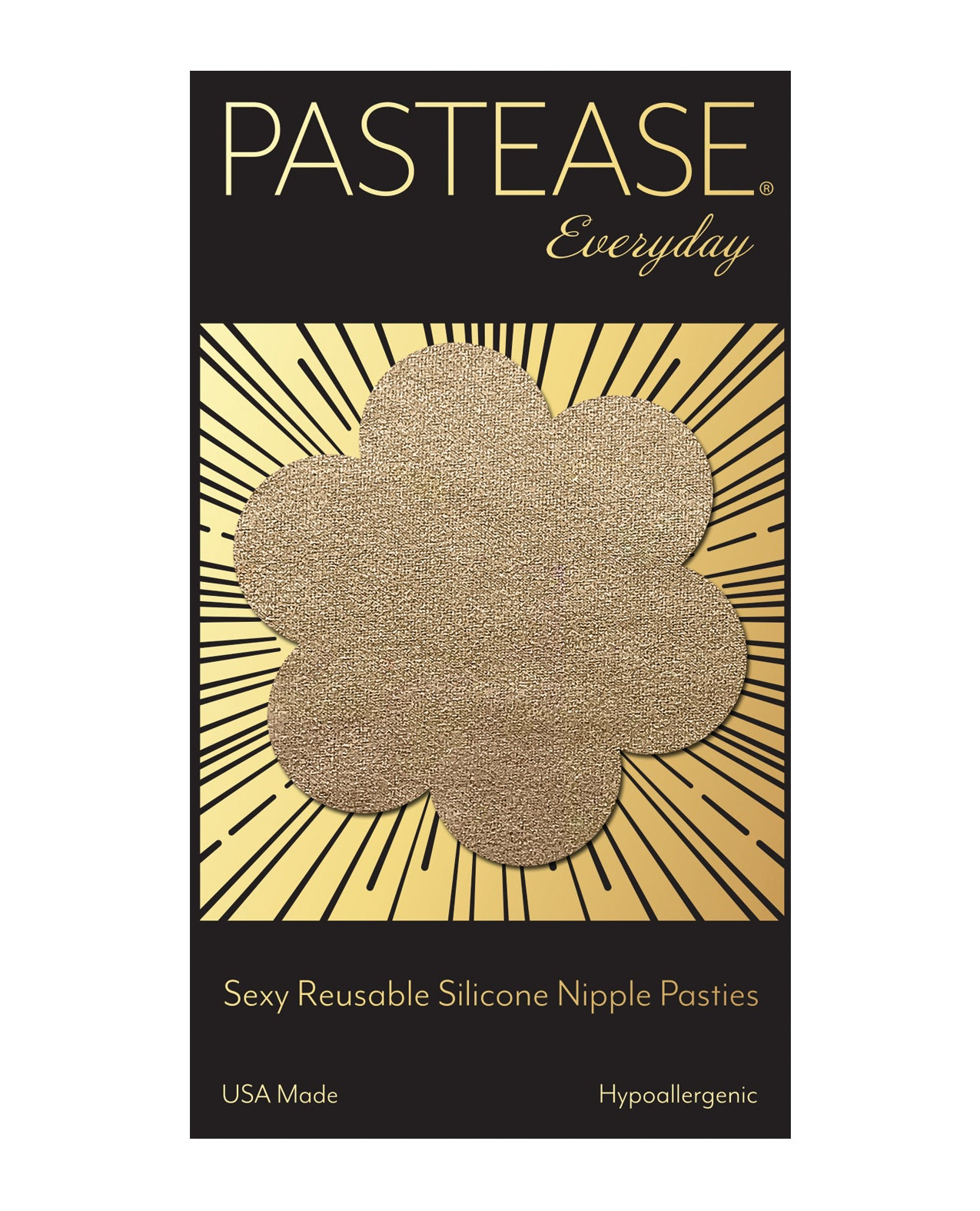 Pastease Reusable Suede Flower - Cream O/S