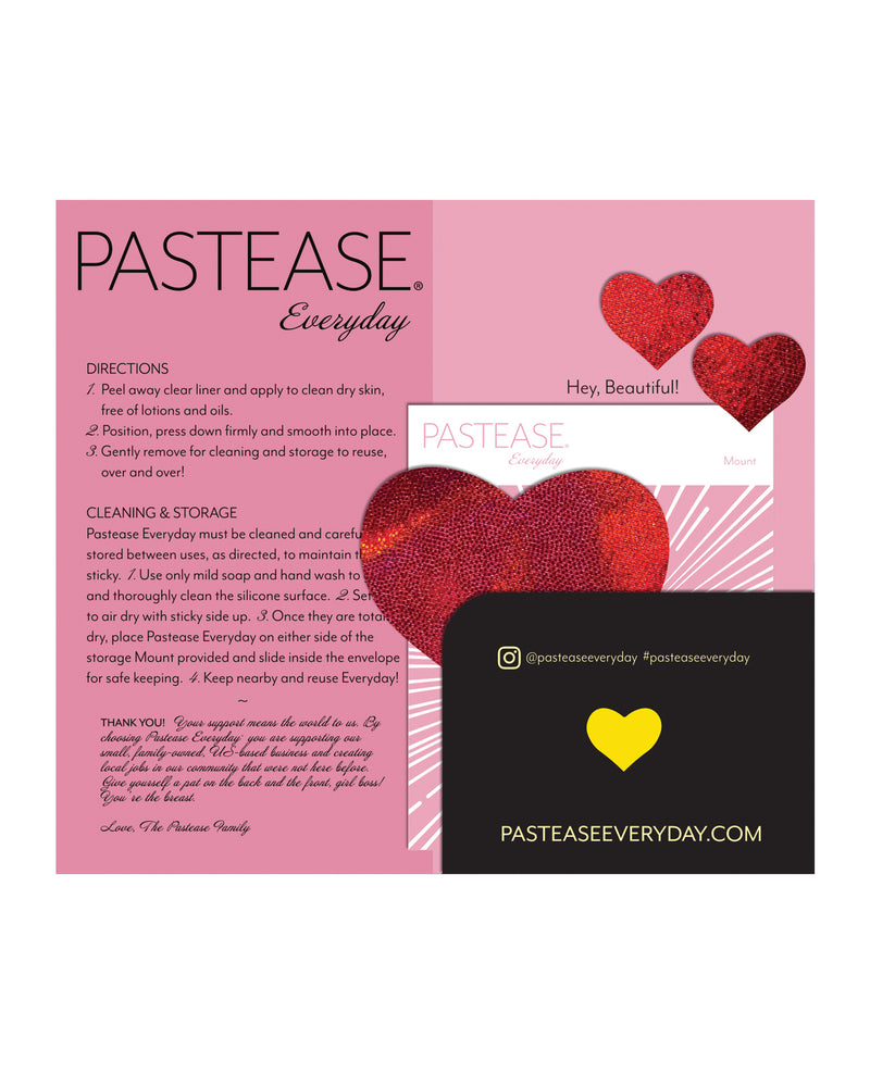 Pastease Reusable Liquid Heart - Red O/S