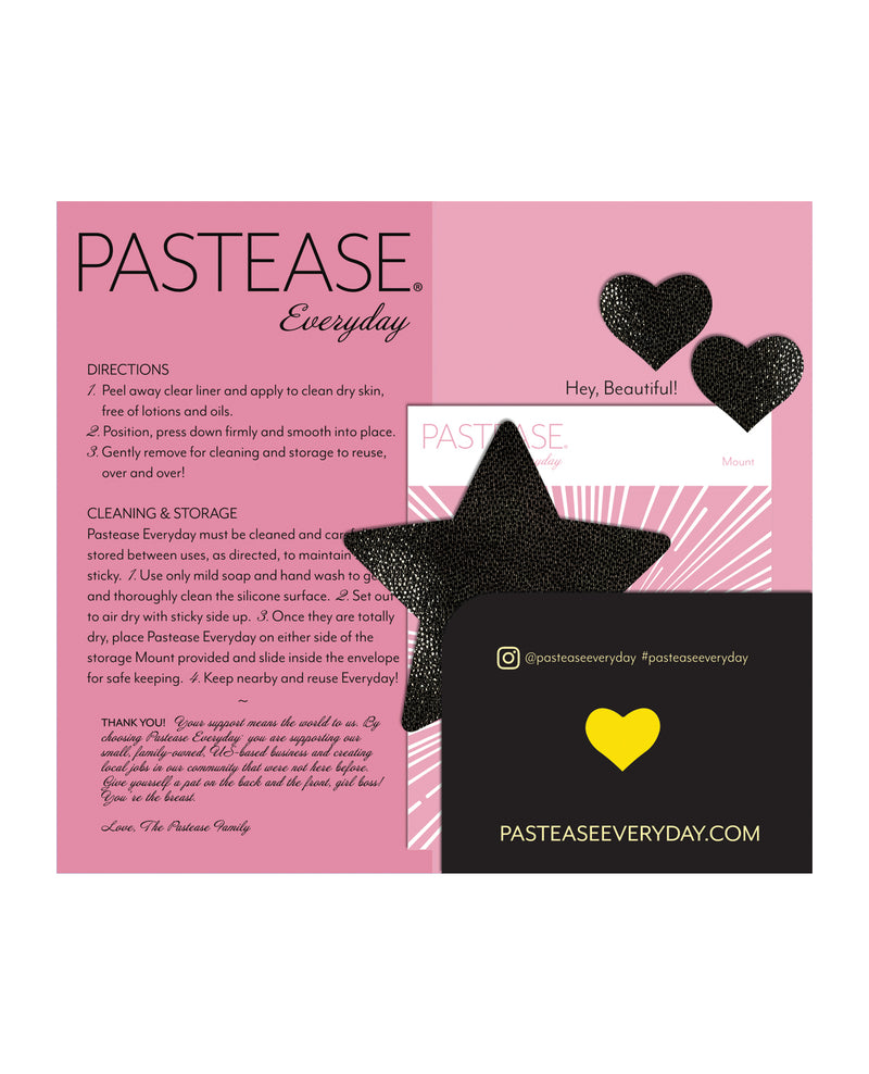 Pastease Reusable Liquid Star - Black O/S