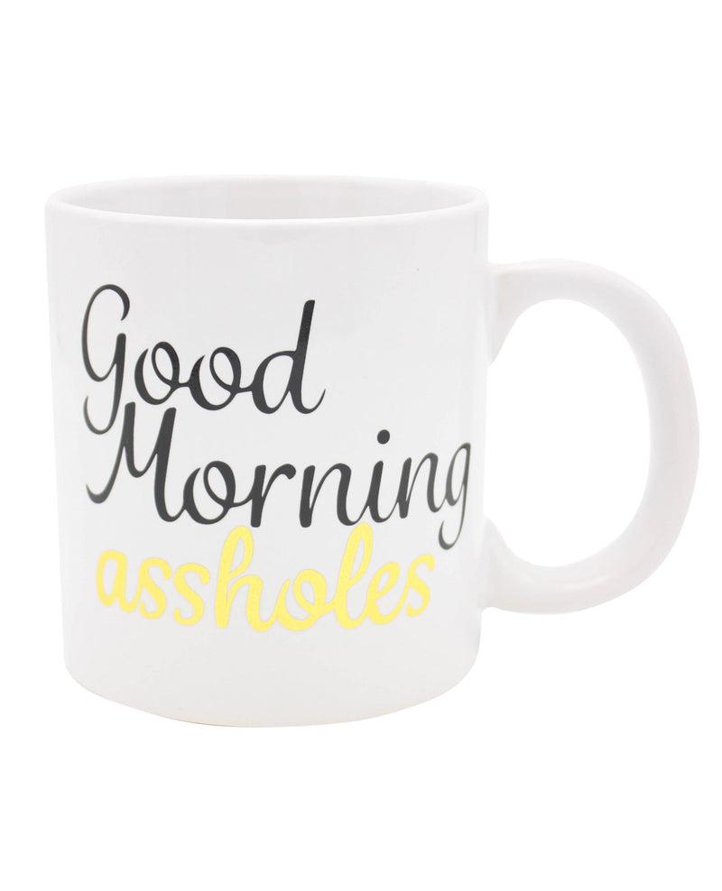 Attitude Mug Good Morning Asshole - 22 oz