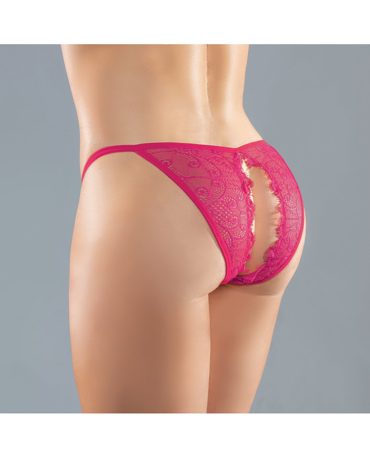 Adore Lace Enchanted Belle Panty Hot Pink O/S