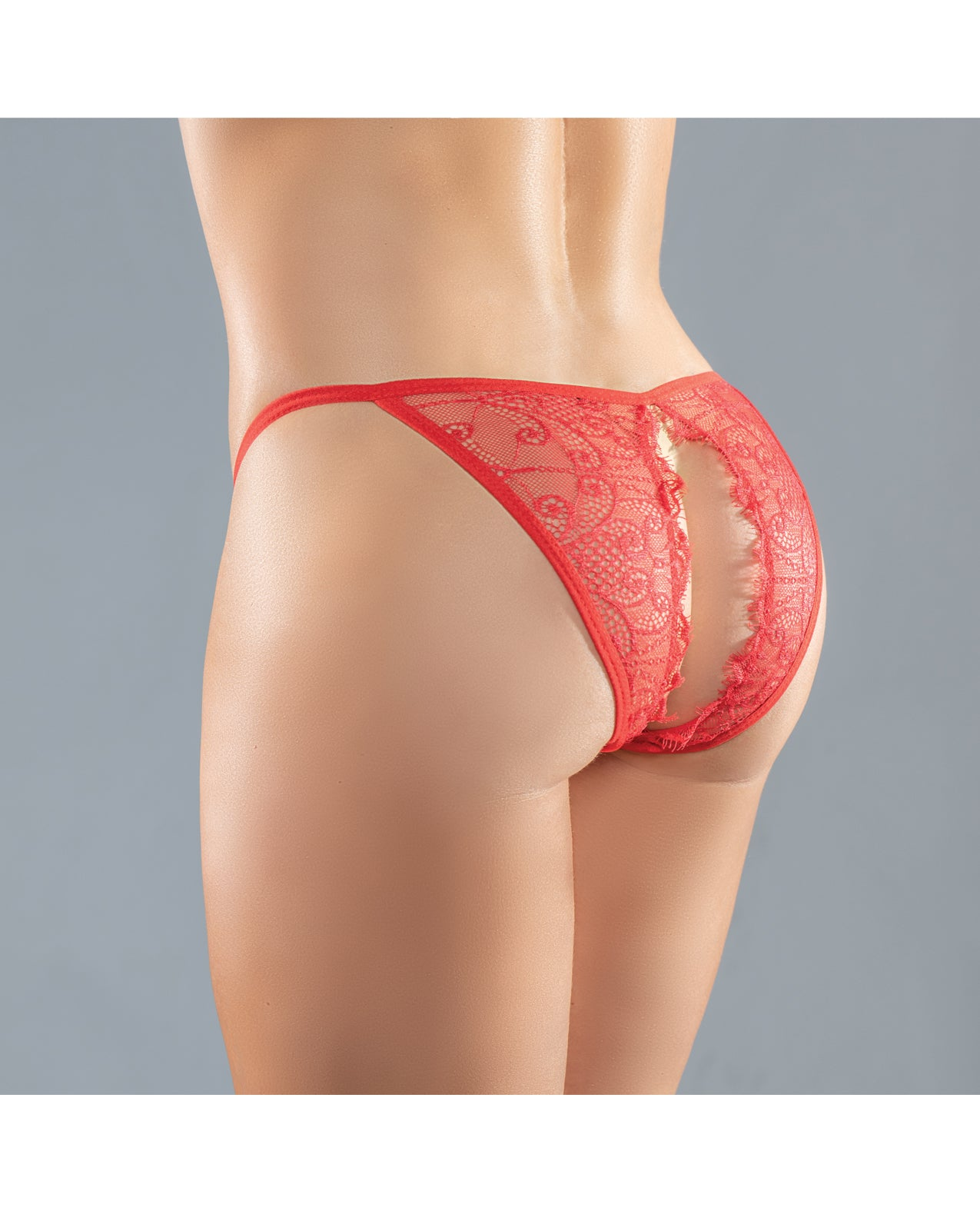 Adore Lace Enchanted Belle Panty Red O/S