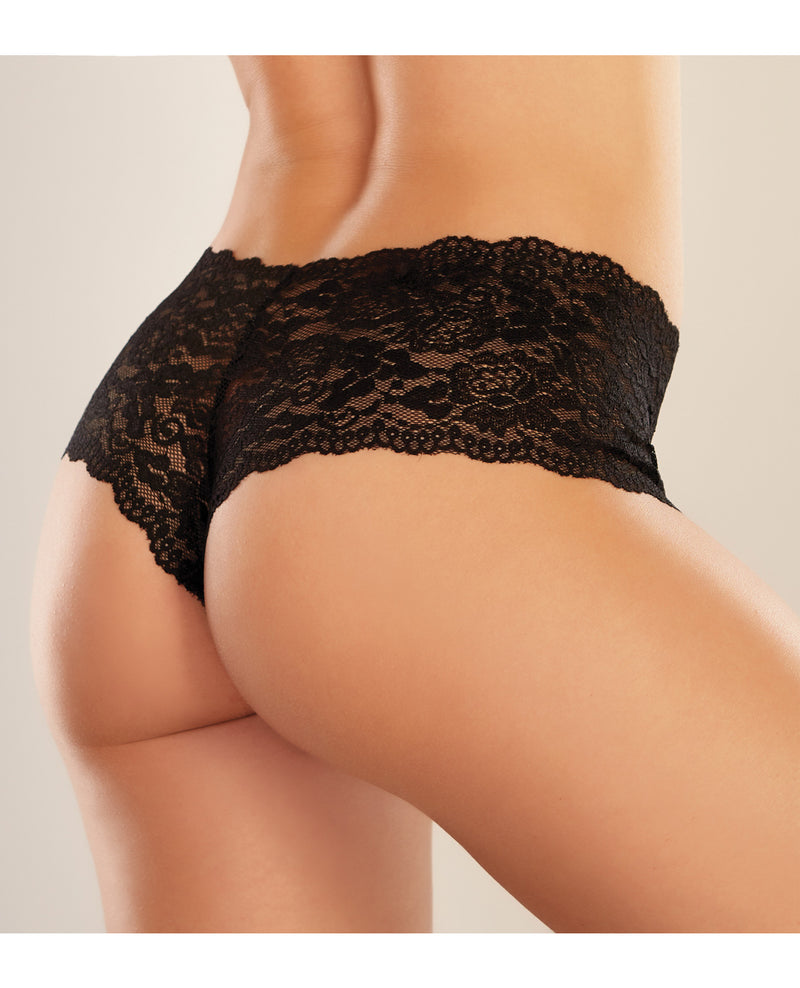 Adore Candy Apple Panty Black O/S