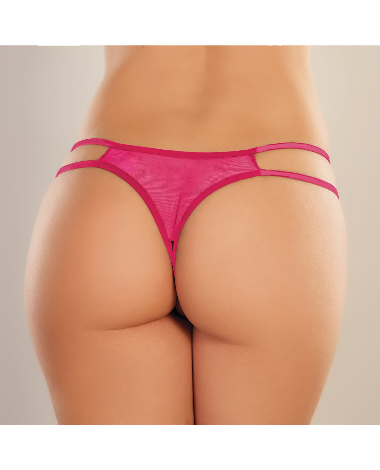 Adore Sweet Honey Panty Hot Pink O/S