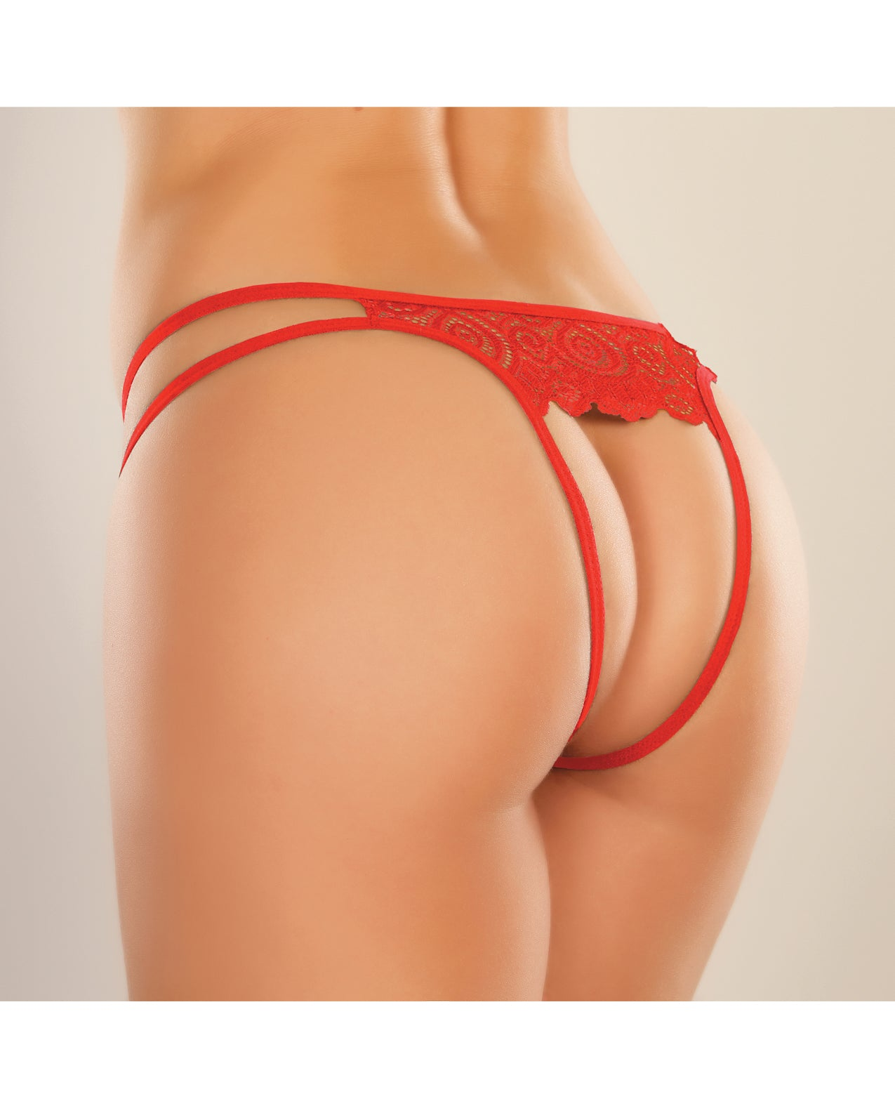 Adore Lovestruck Panty Red O/S
