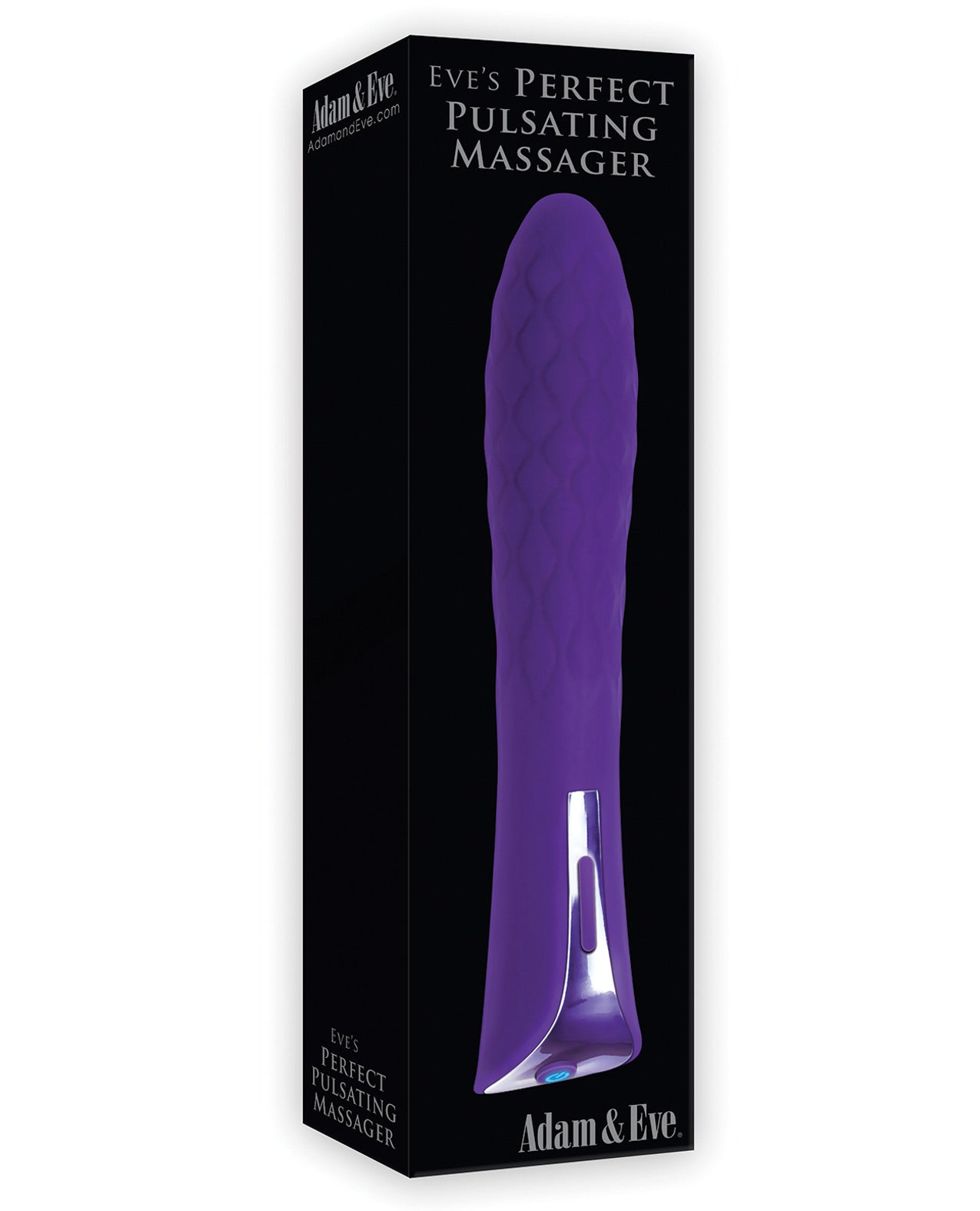 Adam & Eve Eve's Perfect Pulsating Massager - Purple