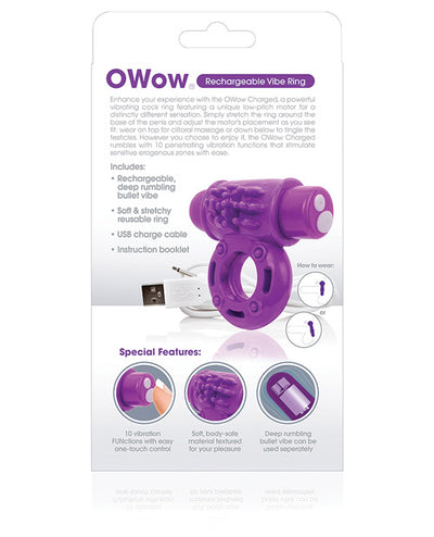 Screaming O Charged OWow Vooom Mini Vibe - Purple