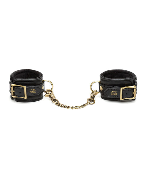 Fifty Shades of Grey Bound to You Wrist Cuffs