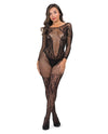 Fifty Shades of Grey Captivate Body Stocking - Black One Size