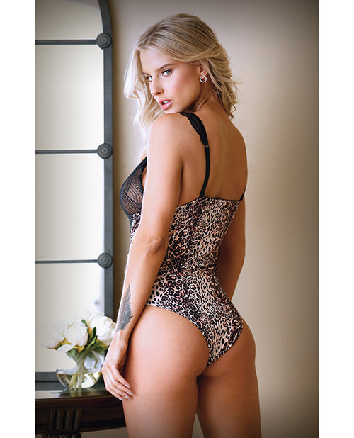 Tease Lorena Teddy Animal Print M/L