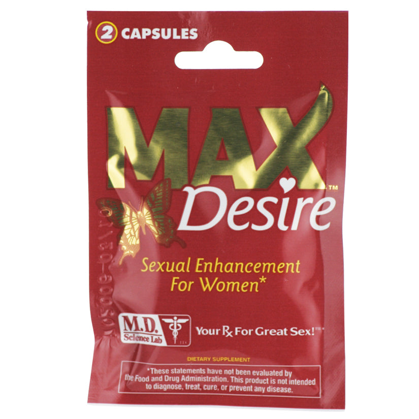 *MAX Desire For Women-2 Pill PackSexual Enhancers