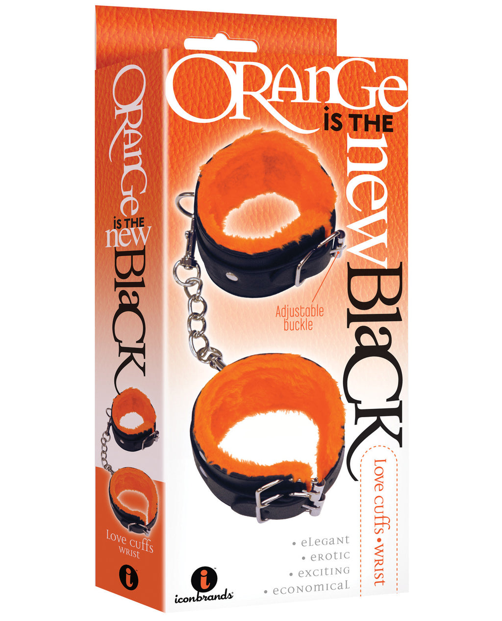 *The 9's Orange is the New Black Wrist Love CuffsBondage Blindfolds & Restraints