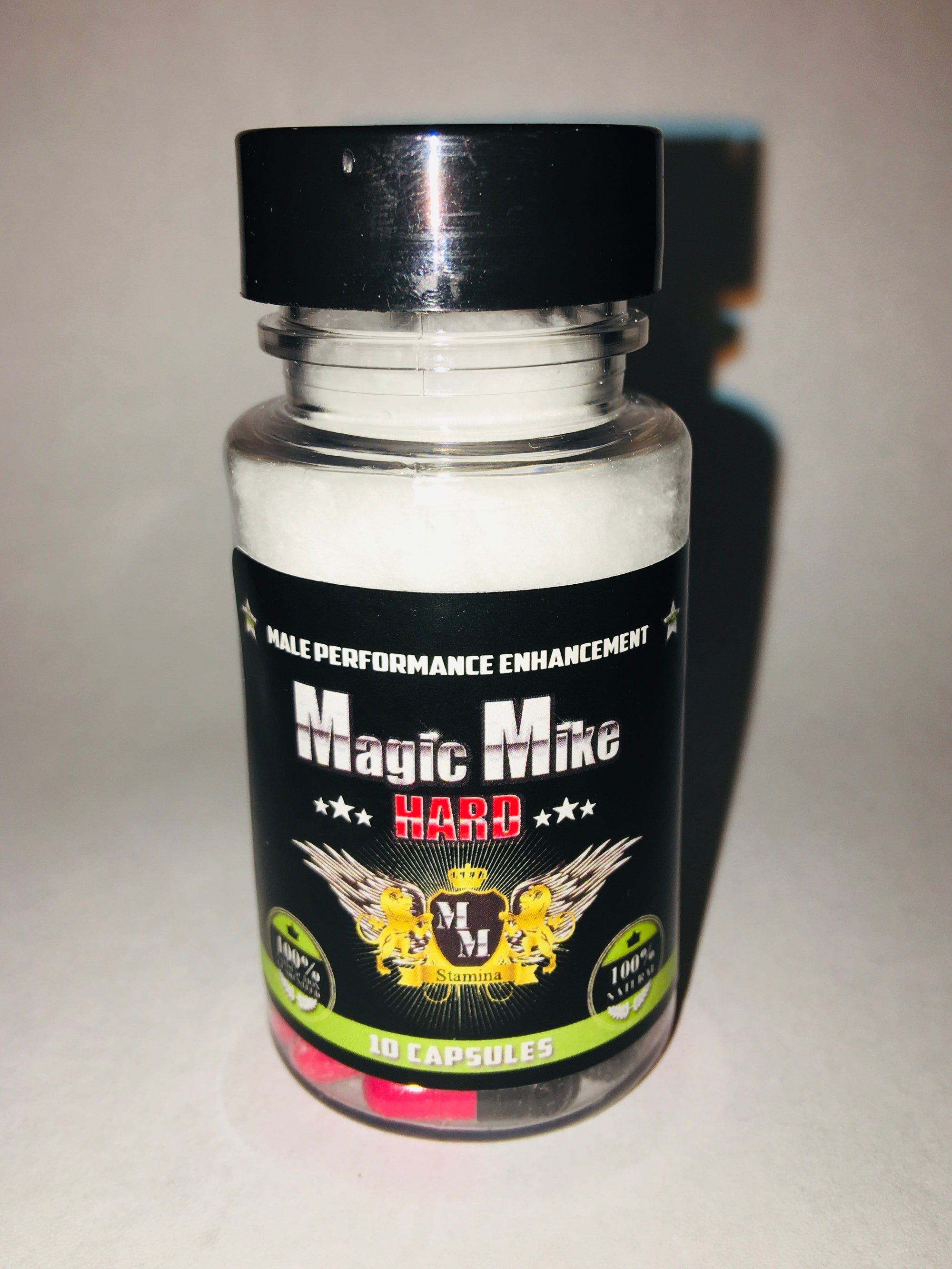 Magic Mike HARD Male Enhancement - 10 Count BottleSexual Enhancers