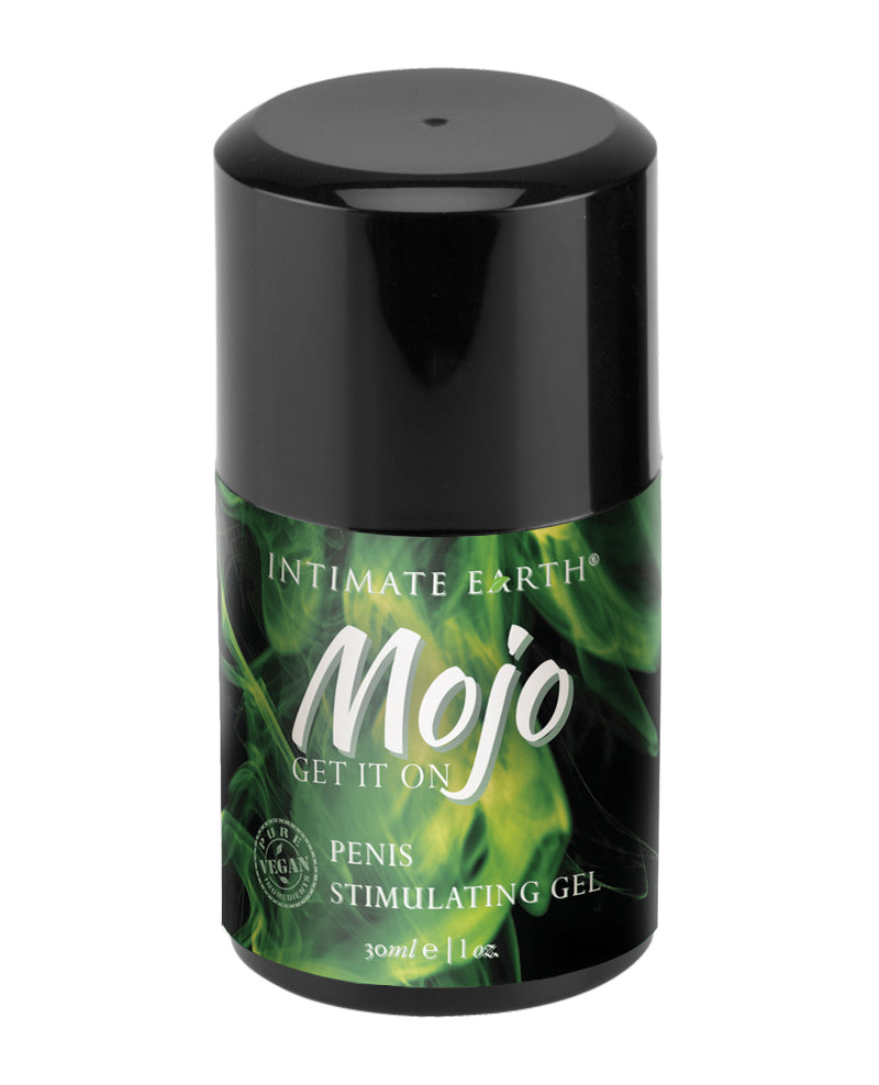 Intimate Earth Mojo Penis Stimulating Gel - 4 oz Niacin and Ginseng