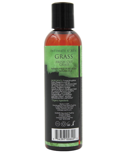 Intimate Earth Massage Oil - 120 ml Grass