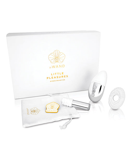 Le Wand Little Pleasures 6 pc Kit - Chrome