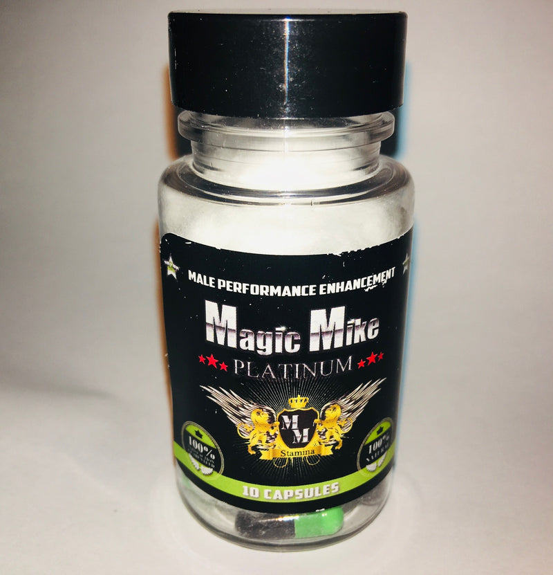 *MAGIC MIKE PLATINUM - 10 COUNT BOTTLESexual Enhancers