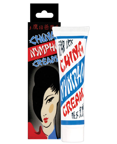 China Nympho Cream Soft Packaging - .5 oz