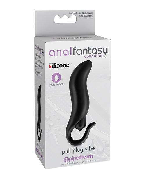 Anal Fantasy Collection Pull Plug Vibe - Black