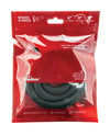 "Xplay Gear 6"", 9"" & 12"" Ultra Wrap Rings - Pack of 3 Black"