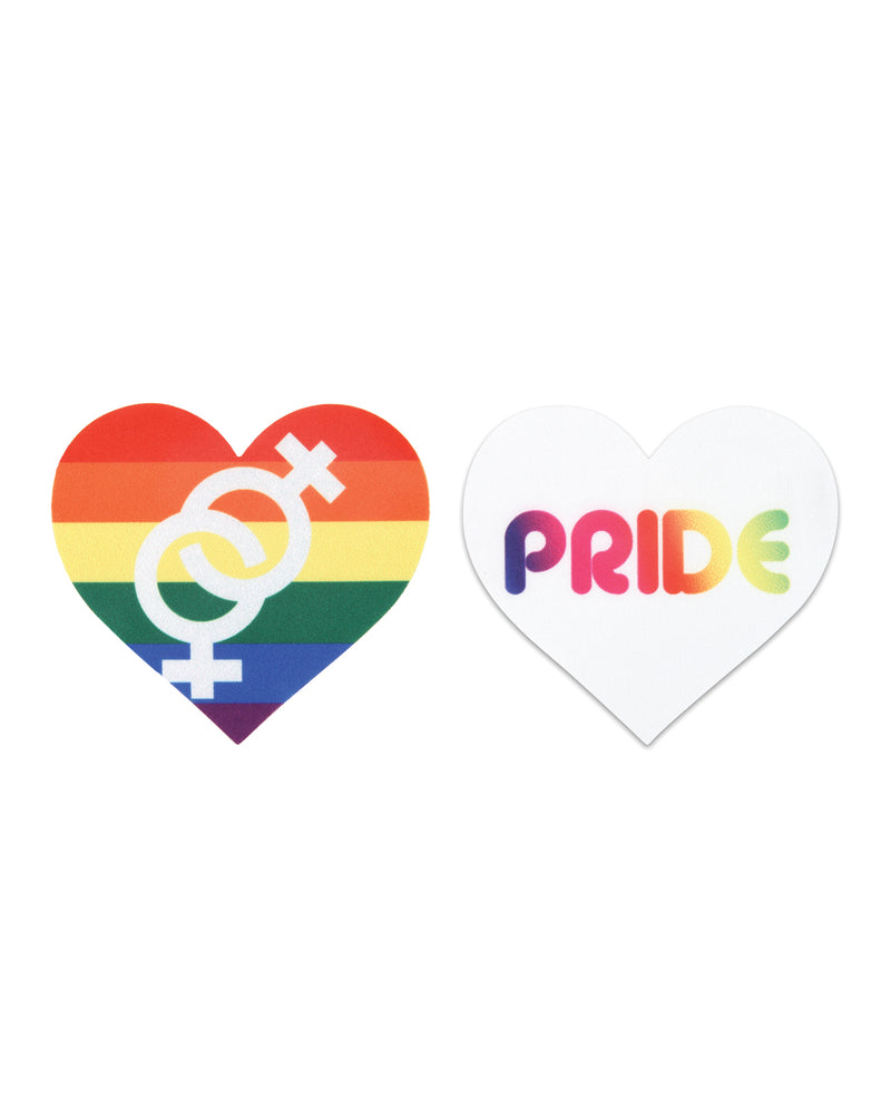 Peekaboos Pride Hearts - Pack of 2