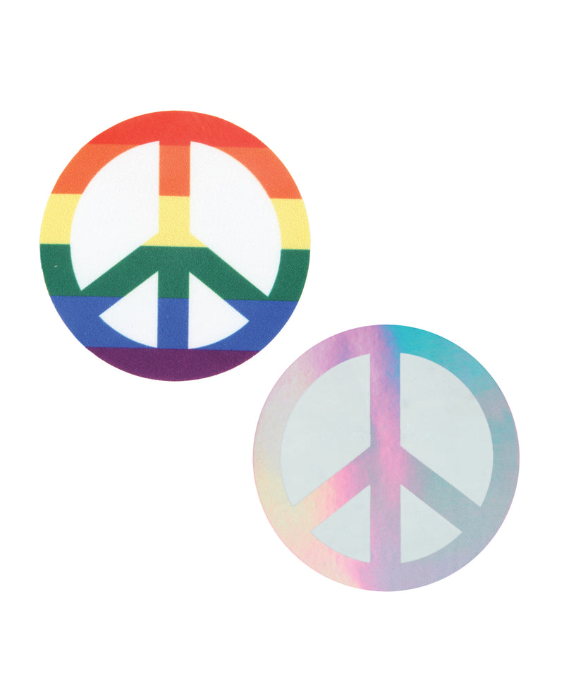 Peekaboos Pride Peace Sign - Pack of 2