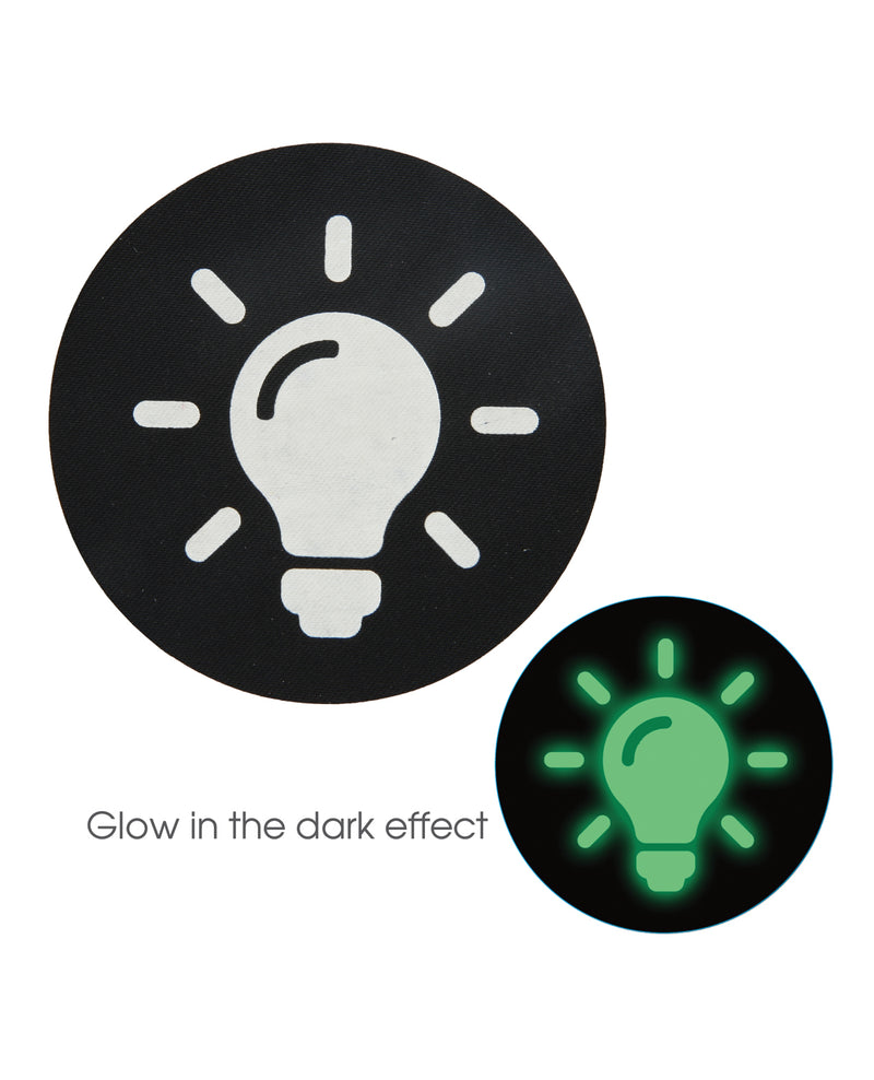 Peekaboos Glow in the Dark Light Bulb - Pack of 2