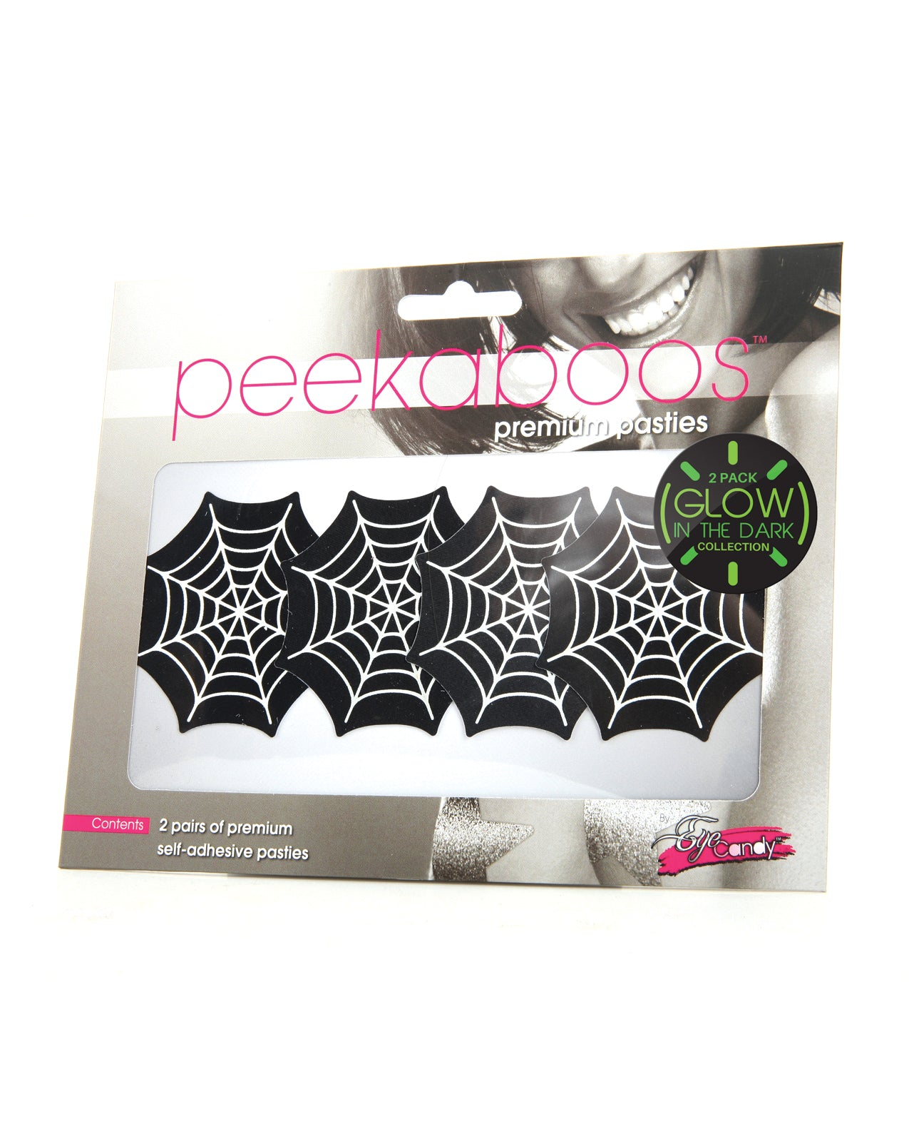 Peekaboos Glow in the Dark Webs - Pack of 2